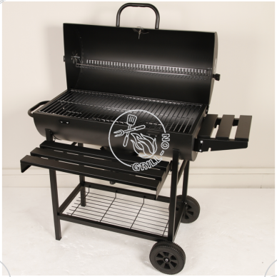 Anglinis grilis Grill-Chef Barrel 2
