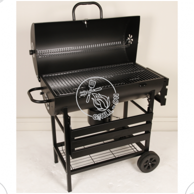 Anglinis grilis Grill-Chef Barrel 5