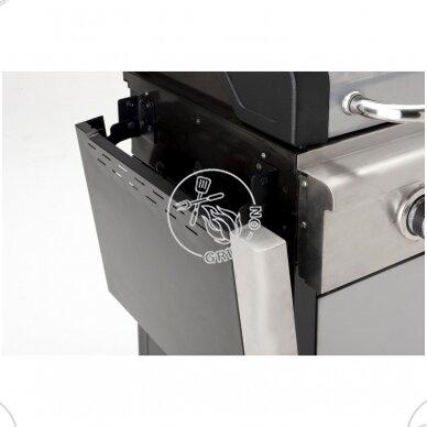 Dujinis grilis Landmann Triton 2.0 - sidabrinis + modulinės grotelės DOVANŲ 5