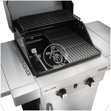 Dujinis grilis Char-Broil Professional 2200S 4