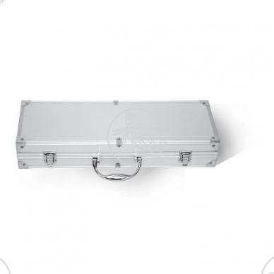 Grilio įrankių rinkinys, 5 vnt.,dėžutėje, nerūdijantis plienas 2