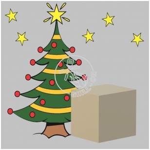 Kalėdinis dovanų pristatymas gruodžio 25-26 dienomis