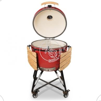 Kamado Bono Grande Limited (raudonas) + dovana + NEMOKAMAS ATVEŽIMAS 6