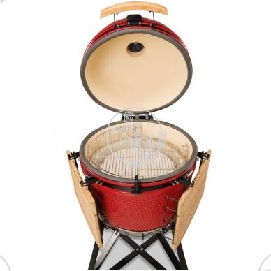 Kamado Bono Grande (raudonas) + dovanos 3