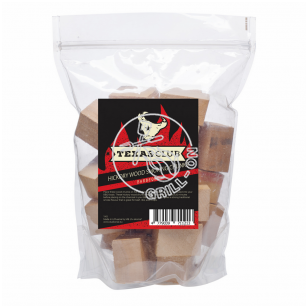 Karijos medžio (Hickory) rūkymo kaladėlės, 1 kg