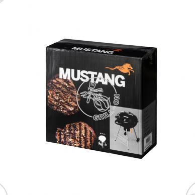 Plieninis dubens tipo Mustang anglinis grilis Ø 54 cm 6