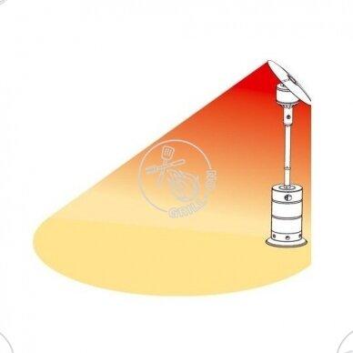 Skėtinis dujinis šildytuvas Landmann SIRIUS 3