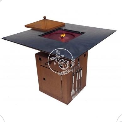 Ugniavietė - grilis Remundi Cube L 2