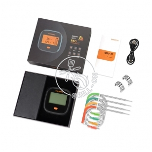 Wi-Fi skaitmeninis termometras INKBIRD IBBQ-4T