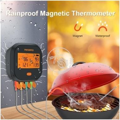 Wi-Fi skaitmeninis termometras INKBIRD IBBQ-4T 5